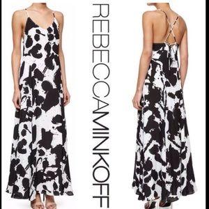 Rebecca Minkoff Alejandra Silk Maxi Dress size 2